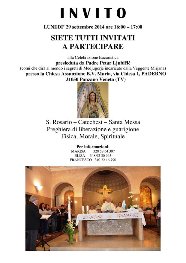29 settembre Locandina Padre Petar