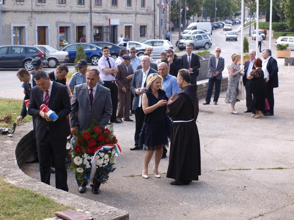 Ospiti presenti alla Commemorazione