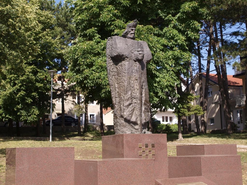 Monumento di Re Tomislav I, primo sovrano della Croazia